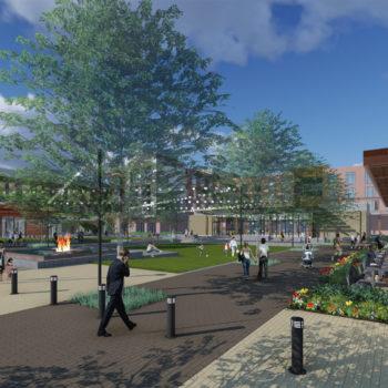 Century Square Lumion Design- College Station