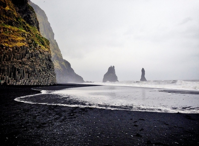 Reynisfjara- Black Sand Beach- 13 Gorgeous Landscapes Around The World