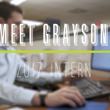 New Staff Highlight- Grayson