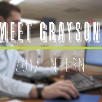 New Staff Highlight- Grayson