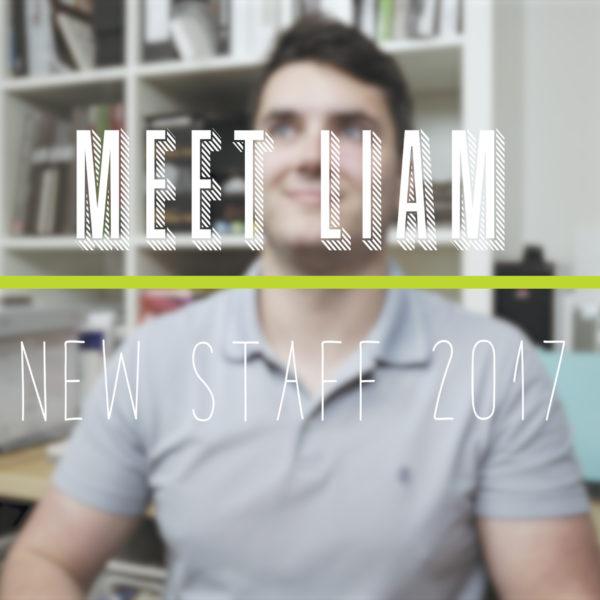 New Staff Highlight- Liam