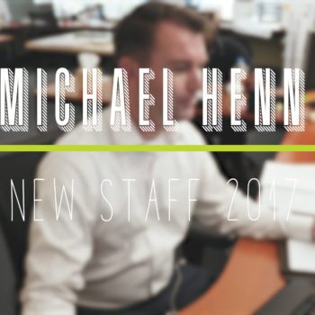 New Staff Highlight- Michael