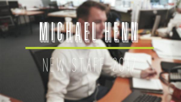 New Staff Highlight- Michael